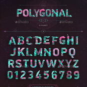 Polygonal alphabet 10938951 icon