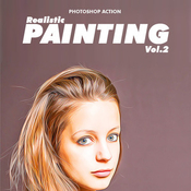 Realistic painting vol2 photoshop action 11626817 icon
