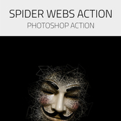 Spider webs photoshop actions 13325433 icon