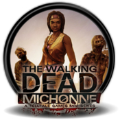 The walking dead michonne episode 2 logo icon