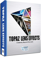Topaz lens effects box icon