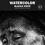 Water color photoshop action 11891742 icon