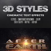 3d cinematic text effects vol2 11266180 icon