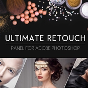 Ultimate retouch 2 0 panel for photoshop icon