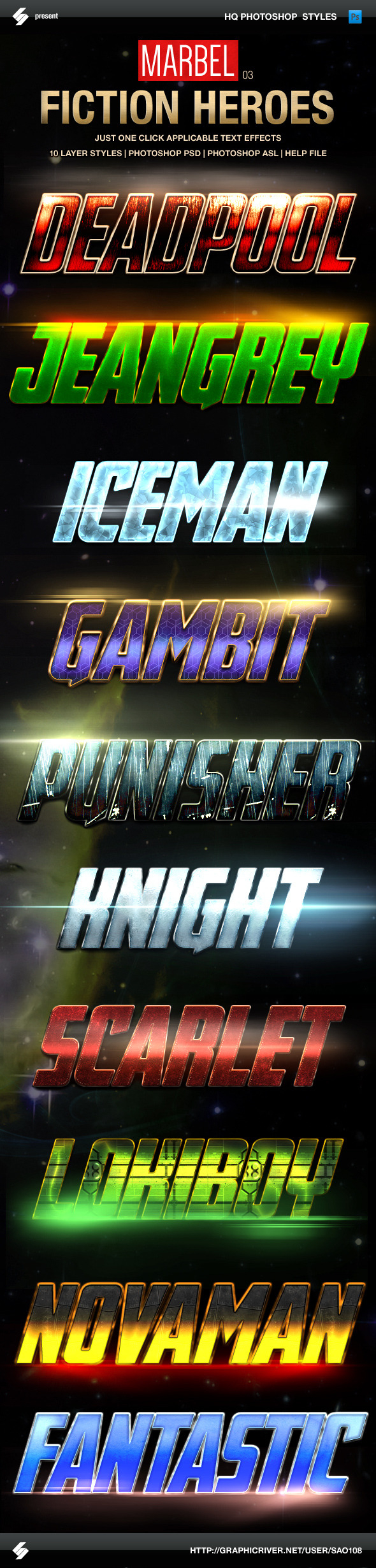 Blockbuster Heroes Style Text Effects 03