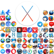 Mac os x 10 11 3 el capitan and all possible and necessary applications logo icon