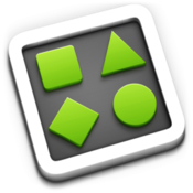 Shapes simple diagramming app icon
