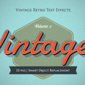 Vintage and retro text effects 878344 icon