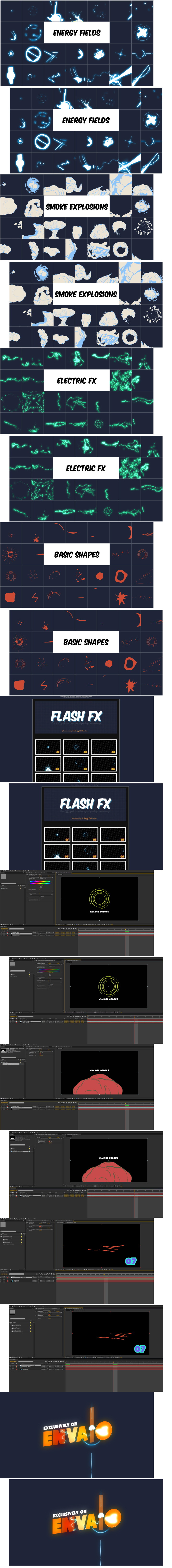 Videohive Flash Fx – Animation Pack by Darkpulse 6527641