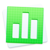 Graphic node templates for numbers icon