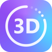3d converter 2d to 3d video conversion icon