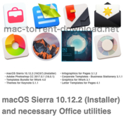 Macos sierra 10 12 2 installer and necessary office utilities icon