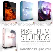 Pixel film studios transition plugins vol 1 icon